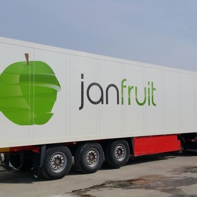 Auto z logiem jonfruit
