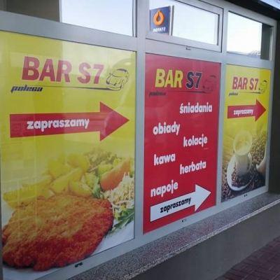 Witryna marketu spożywczego
