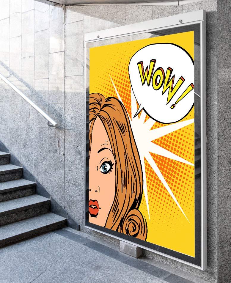 Nowoczesny druk plakatów reklamowych Warszawa - plakaty wielkoformatowe